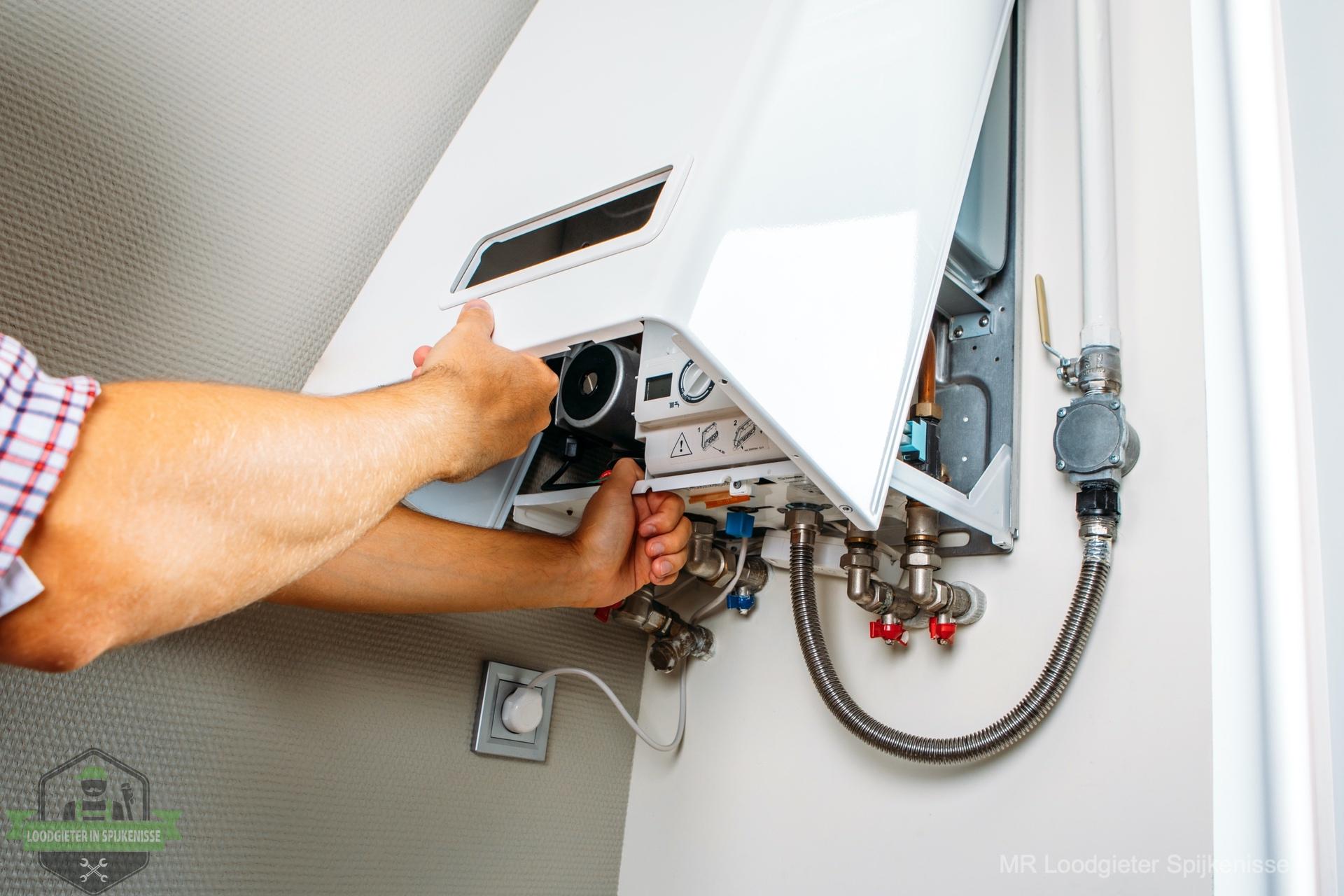 CV storing verhelpen loodgieter Spijkenisse