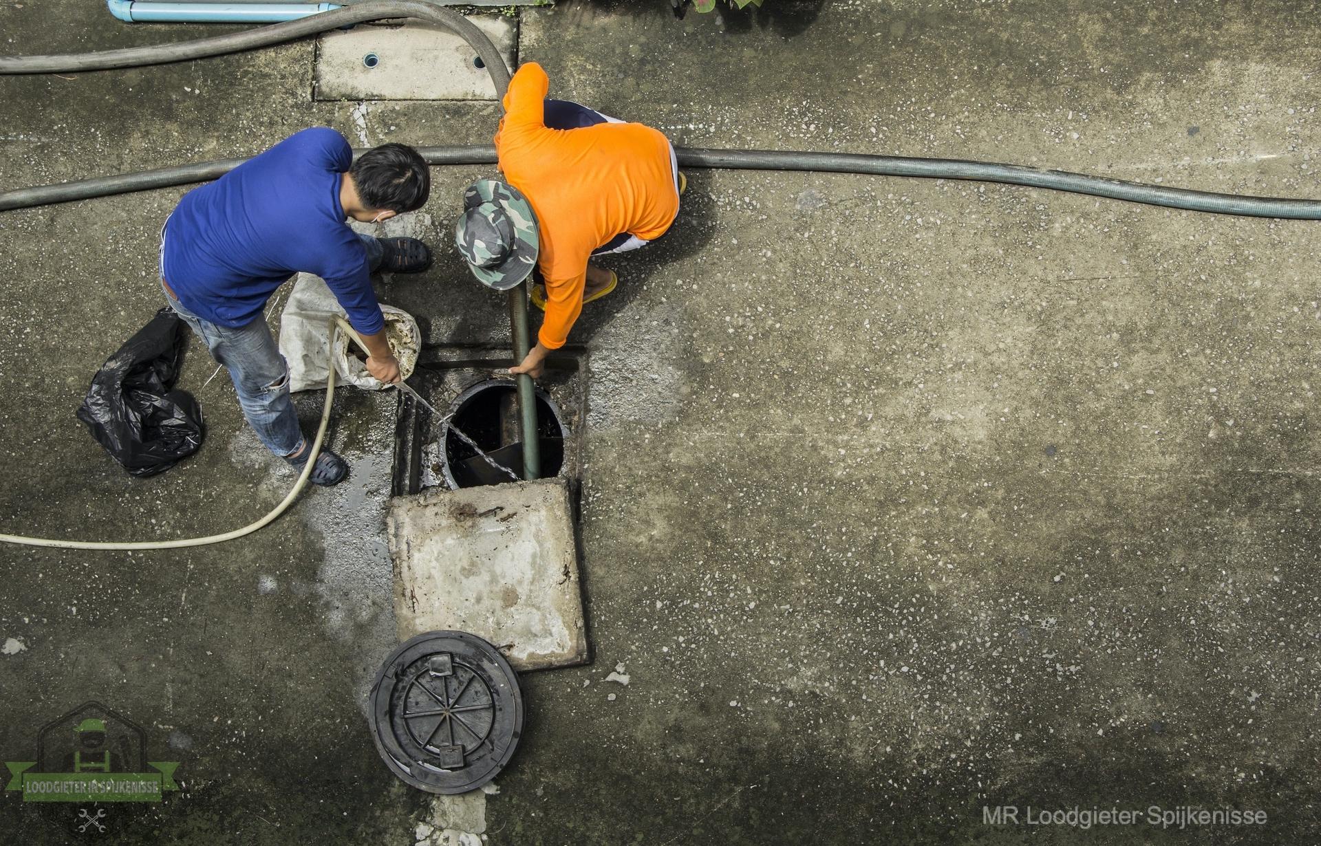 Riool inspectie loodgieter Spijkenisse