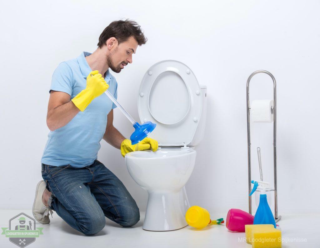 WC verstopt Spijkenisse