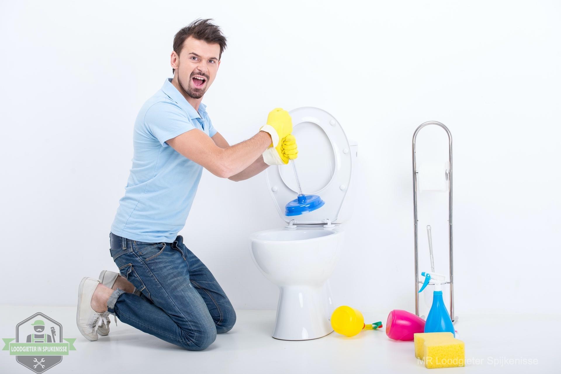 Zelf WC ontstoppen Spijkenisse
